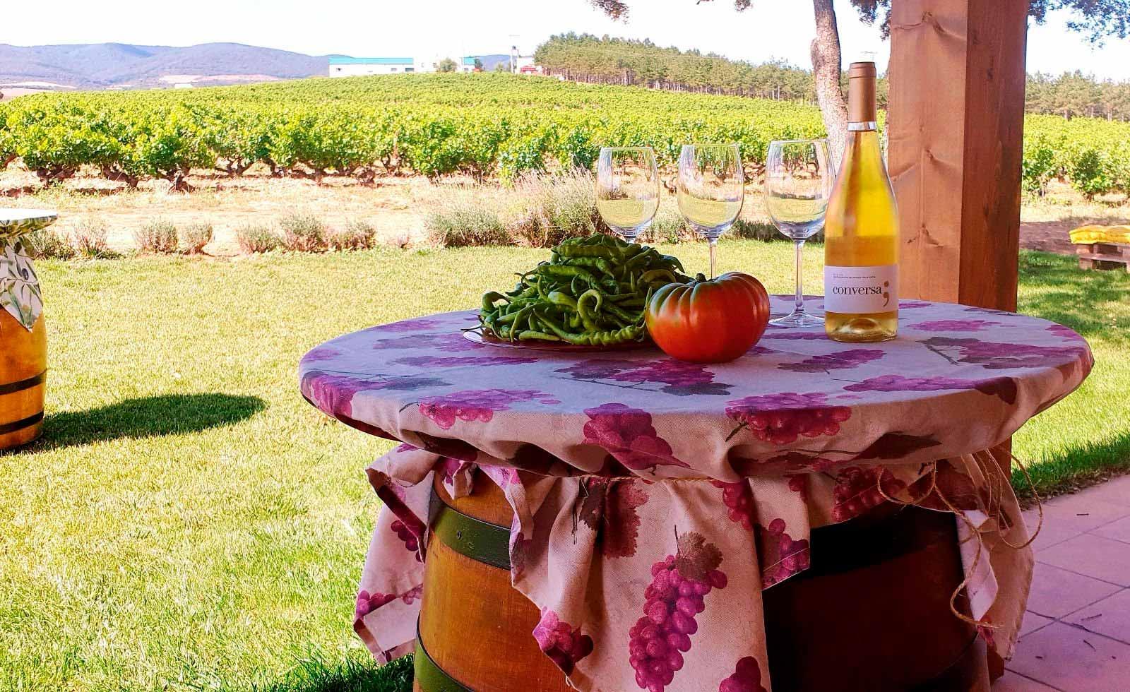 Comprar blanco Rioja Conversa, de Finca Vistahermosa
