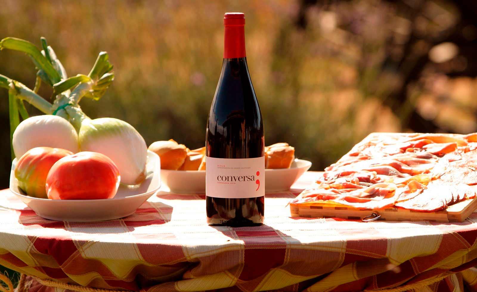Comprar vino Rioja Conversa Garnacha tinto de Finca Vistahermosa