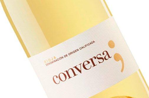 Vino blanco Rioja Conversa, de Finca Vistahermosa